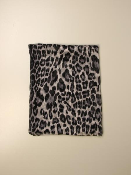 Blumarine scarf in animalier chiffon