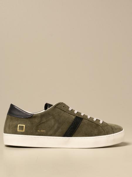 Hill low D.A.T.E. sneakers in vintage suede