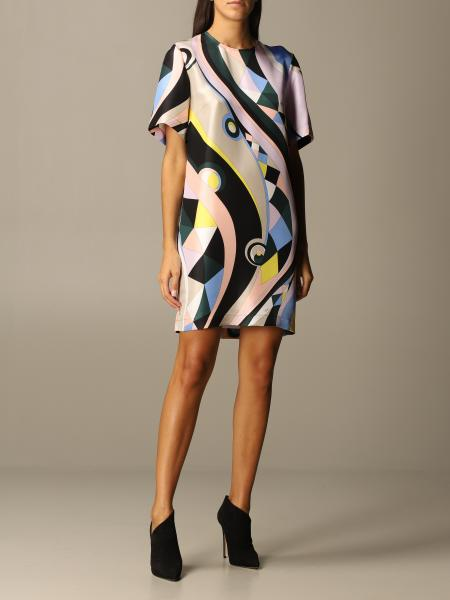 Emilio Pucci: Emilio Pucci printed silk dress