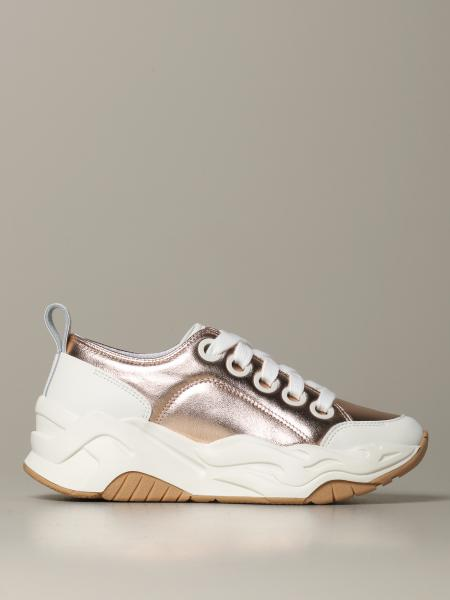 P1thon Just Cavalli sneakers in laminated leather