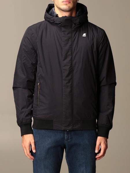 K-Way men: Justin ripstop marmot K-way jacket with hood