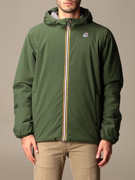 K-Way men: Jacques warm double K-way jacket