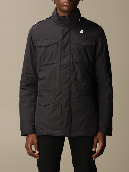 K-Way men: K-way Manfield ripstop marmot nylon jacket