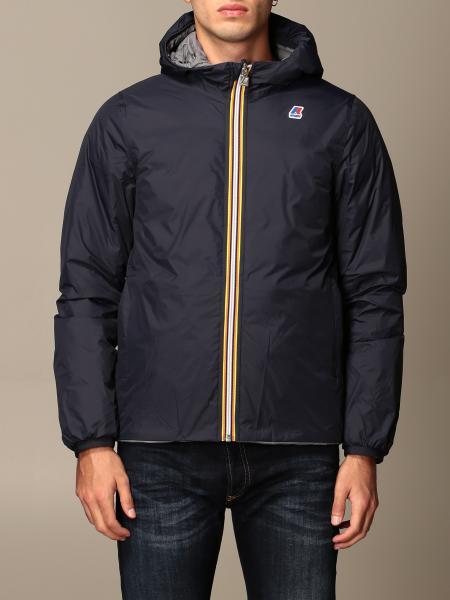 K-Way men: Jacques thermo plus double K-way jacket