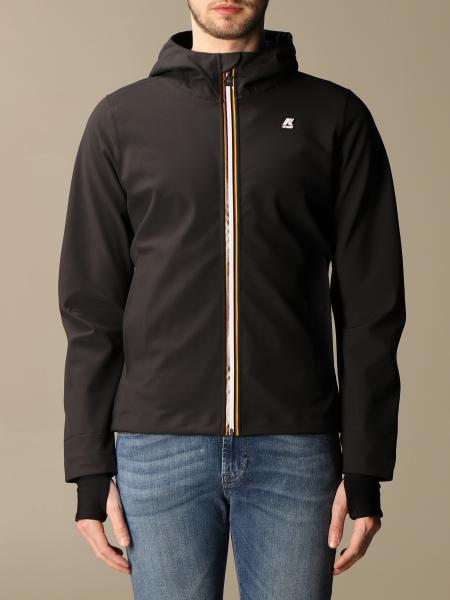 K-Way men: Jack bonded K-way jacket in neoprene