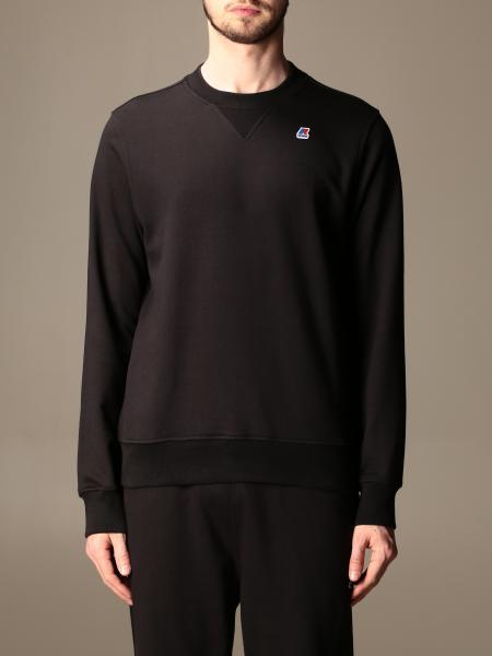 K-Way men: Baptiste K-way sweatshirt with logo