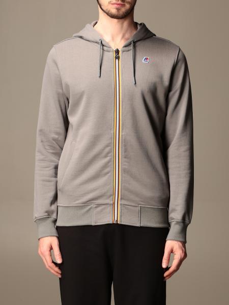 K-Way men: Anthony K-way sweatshirt with hood and zip