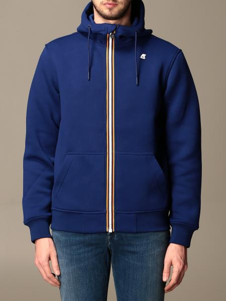 K-Way men: Spacer K-way sweatshirt in neoprene with hood