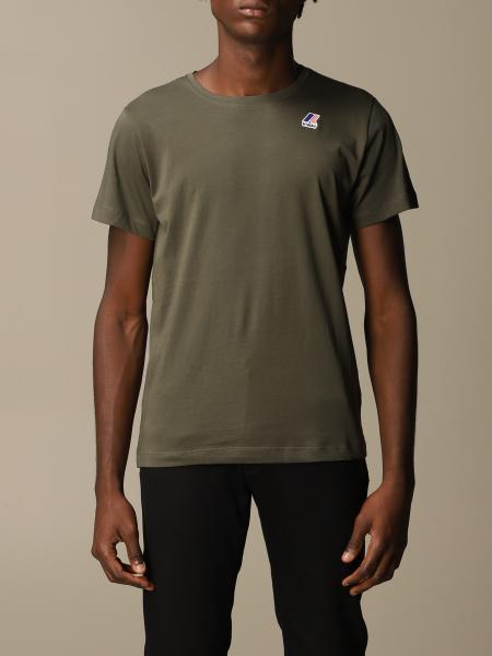 K-Way men: Le Vrai Edouard K-way t-shirt in cotton
