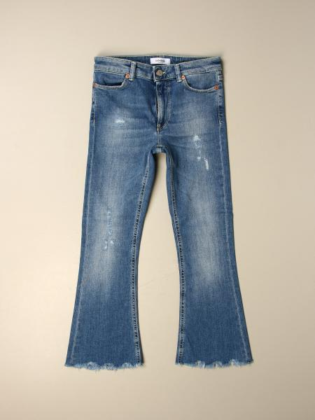 Dondup bambino: Jeans Manide Dondup in denim used stretch a trombetta