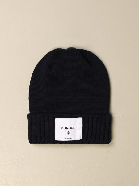 Dondup hat in wool with logo