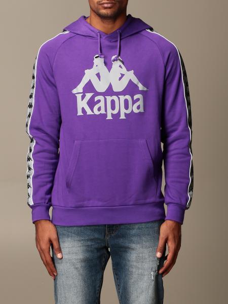 Kappa: Felpa Kappa con logo e cappuccio