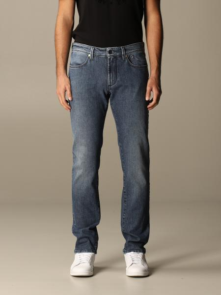 Jeckerson: Jeans Jeckerson in denim stretch ecosostenibile