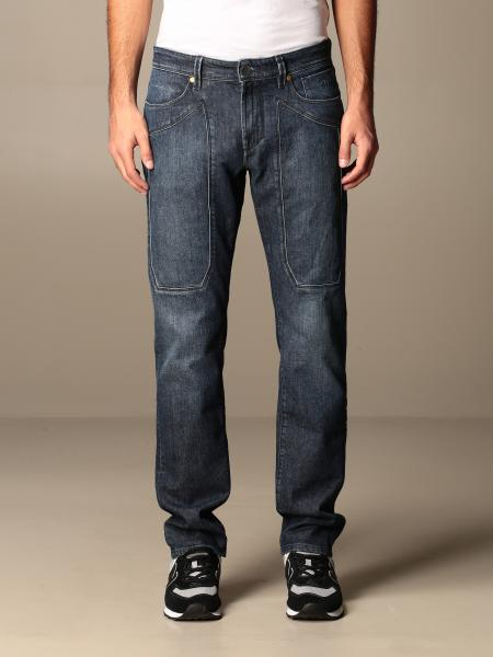 Jeckerson: Jeans Jeckerson in denim detox used con toppe ecosostenibile