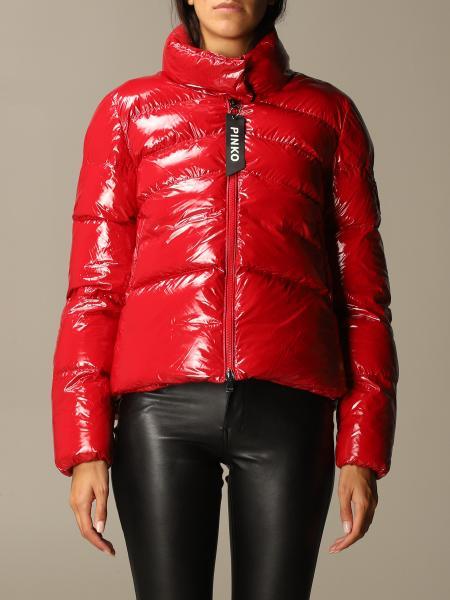 Mirco Pinko glossy down jacket