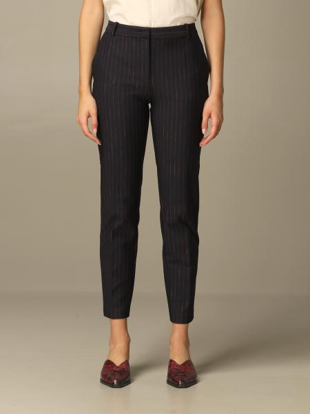 Pinko donna: Pantalone Bello 91 Pinko gessato