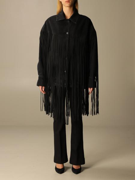 Janet denim over with maxi fringes