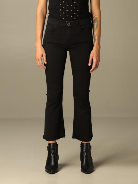 Pinko donna: Jeans Fannie 11 Pinko in denim cropped