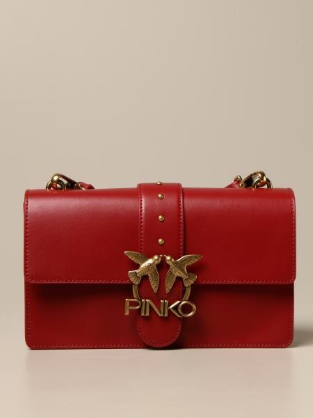 Borsa Love Classic Icon Simply Pinko in pelle