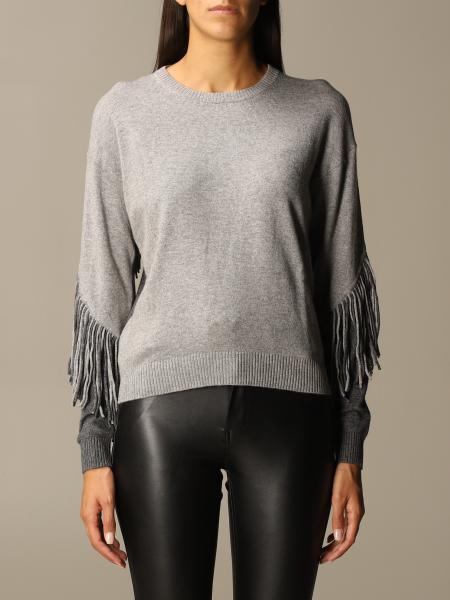 Maglia Coperto Pinko in misto lana con frange