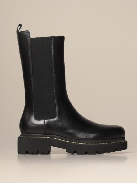 Natalie Pinko Chelsea boot in leather
