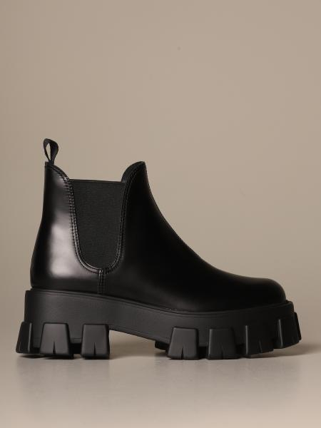 Prada ankle boot in leather