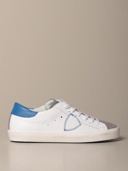 Paris Philippe Model sneakers in leather and suede