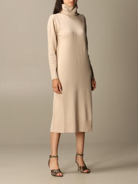 Musa Max Mara pullover dress in wool and cashmere