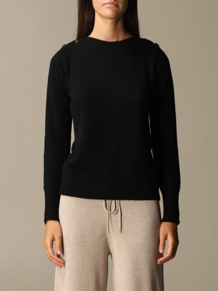 Max Mara women: Pelota Max Mara sweater with cashmere and wool buttons