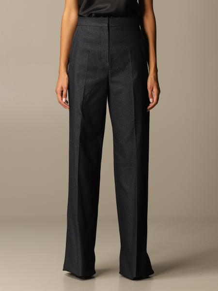 Max Mara women: Ernesta Max Mara high-waisted denim trousers