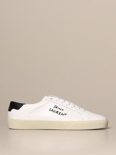 Court Classic SL / 06 Saint Laurent 皮革运动鞋