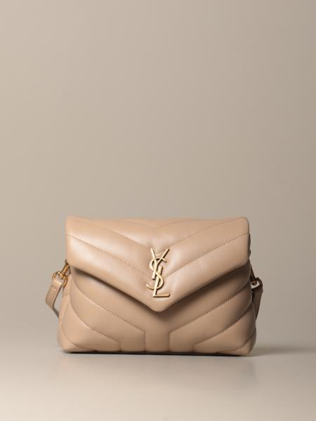 Sac Toy loulou Saint Laurent en cuir matelassé