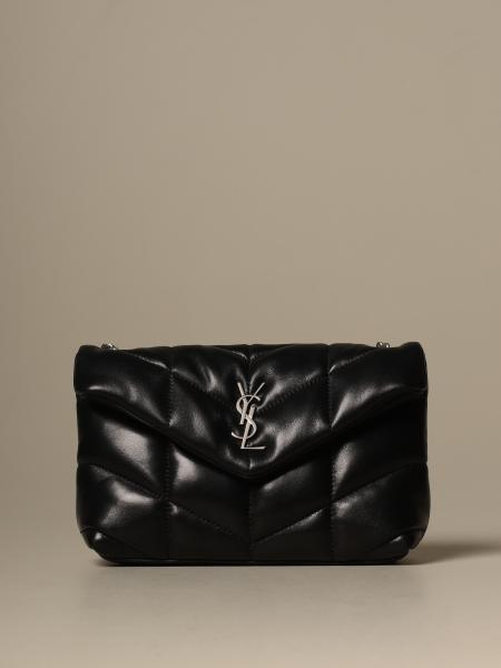 Borsa Toy loulou puffer Saint Laurent in pelle trapuntata