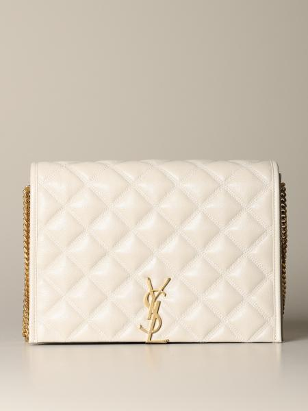 Borsa Becky Saint Laurent in pelle trapuntata