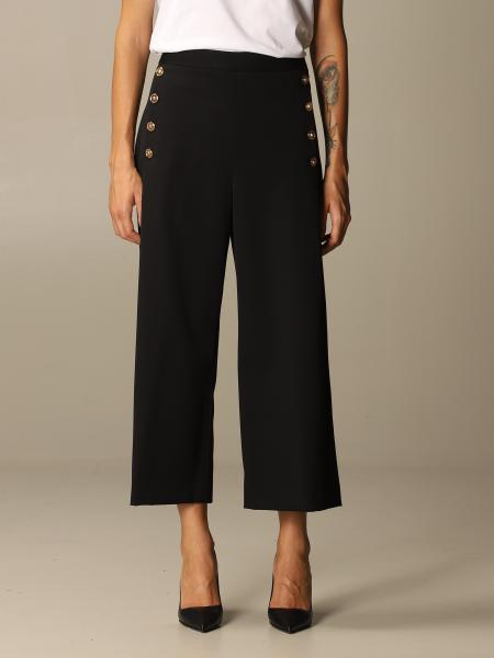 Versace trousers with metal buttons