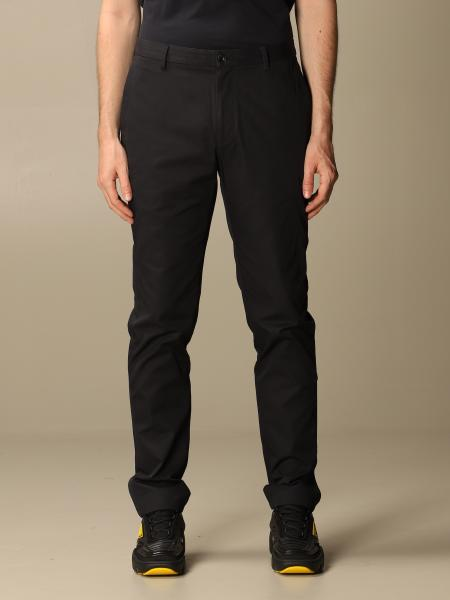 Pantalone Chino Burberry slim in in twill di cotone