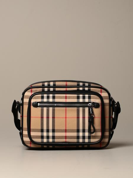 Burberry vintage check cotton shoulder bag