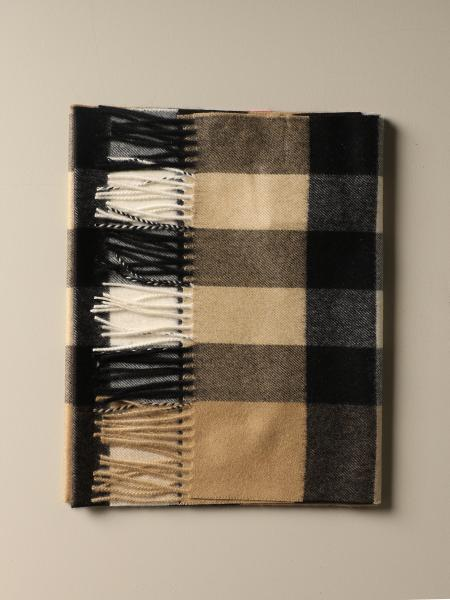 Sciarpa Burberry in cashmere check