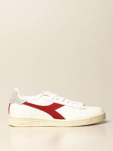 Sneakers Game low waxed Diadora in pelle