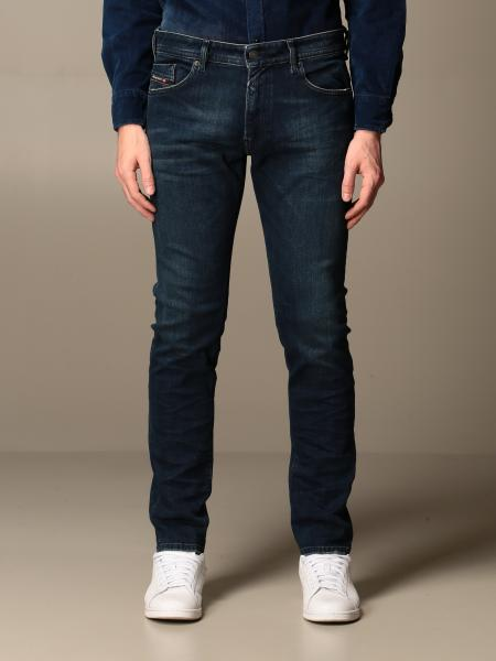 Diesel: Jeans Thommer x Diesel in denim stretch used slim skinny