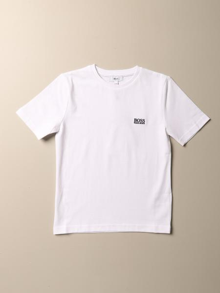 T-shirt Hugo Boss in cotone con logo