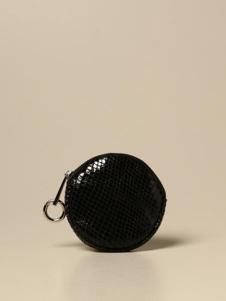 Candy Marc Ellis coin purse in python print leather