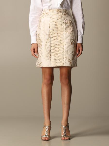 Moschino für Damen: Rock damen Moschino Couture