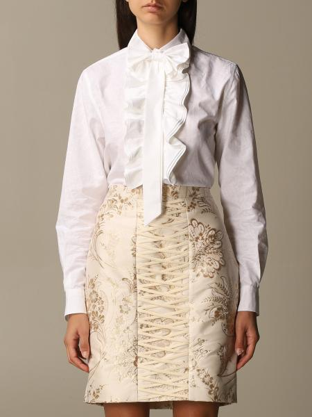 Moschino für Damen: Hemdbluse damen Moschino Couture