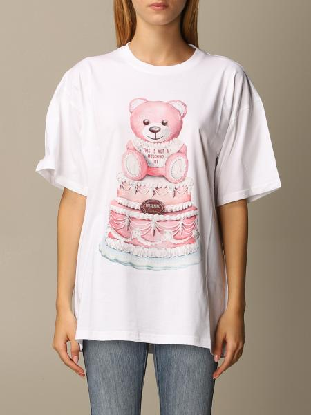 Moschino Couture T-shirt with Teddy cake print