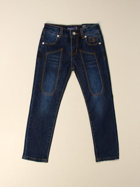 Jeans Jeckerson in denim con toppe