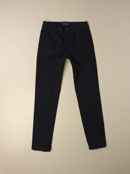 Jeckerson trousers in shaved cotton