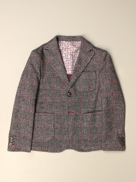 Jeckerson blazer in Prince of Wales wool