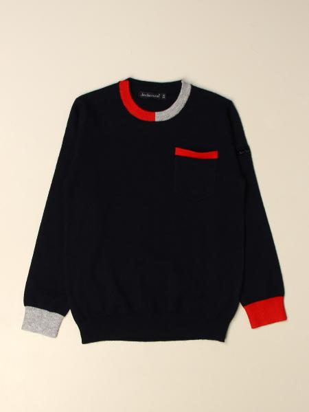 Jeckerson kids: Jeckerson pullover with contrasting edges