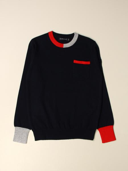 Jeckerson pullover with contrasting edges